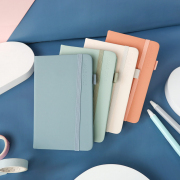 Morandi Simple Style Hardcover Ruled Notebook A6