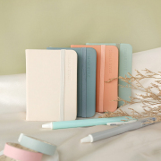 Morandi Simple Style Hardcover Ruled Notebook A7