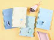 Daydream Girl Multi Subject Ruled Notebook