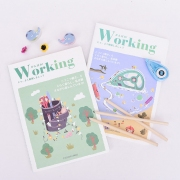 Working Ruled Notebook Set