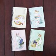 Fantasy Kingdom Spiral Ruled Notebook A5