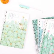 Good Morning Elves Spiral Ruled Notebook A5