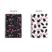 Kumamon Cuteness Spiral Ruled Notebook A5