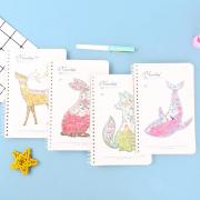 Neverland Animal Spiral Ruled Notebook A5