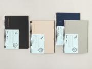 Born to Shine Spiral Ruled Notebook B5
