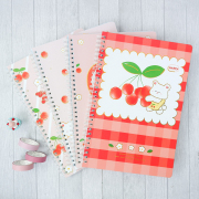 Cherry Baby Spiral Ruled Notebook B5