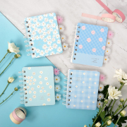 Daisy in Your Memory Spiral Ruled Notebook Mini