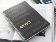 Dreamer Spiral Ruled Notebook