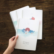 Dreams Come True Spiral Ruled Notebook