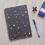 Fantasy Land Spiral Ruled Notebook