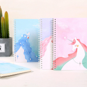 Fantasy Unicorn Spiral Ruled Notebook
