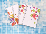 Fruit Party Spiral Ruled Notebook
