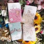 In Sunny Spring Spiral Ruled Notebook B5