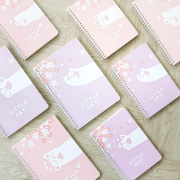 Little Cat Paw Spiral Ruled Notebook