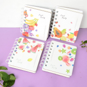 Fruit Party Spiral Ruled Notebook Mini