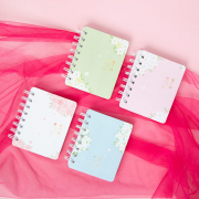 The Language of Sakura Spiral Ruled Notebook Mini