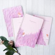 Purple Dream Spiral Ruled Notebook
