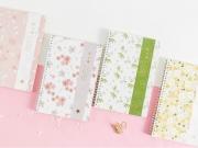 Sakura Season Spiral Ruled Notebook