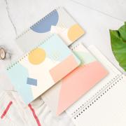 Scandinavia Spiral Ruled Notebook A5