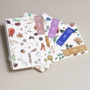 Simple Joy Nature Spiral Ruled Notebook