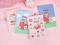 Strawberry Girl Spiral Ruled Notebook B5