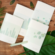 Summer Plant Ruled Notebook