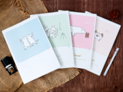 Bosom Friend Thick Ruled Notebook B5