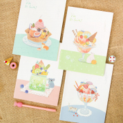 Do You Like Ice Cream Ruled Notebook B5