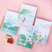 Dream Traveler Thick Ruled Notebook B5