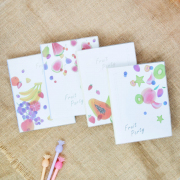 Fruit Party Thick Ruled Notebook