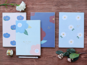 Hyuna Flower Thick Ruled Notebook B5