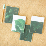 Leaves of Grass Thick Ruled Notebook A6