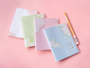 The Language of Sakura Thick Ruled Notebook A6