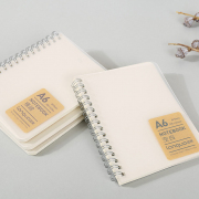 Clear Cover Spiral Notebook