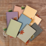 Panmomo Colors of Autumn Spiral Ruled Notebook