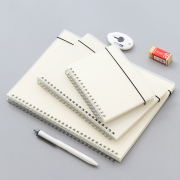 Transparent Cover Spiral Notebook
