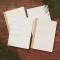 Leaf Impression Thick Ruled Notebook B5