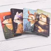 Famous Painting Leather Travelers Notebook