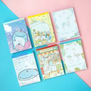 Assorted Fancy Notepad A6