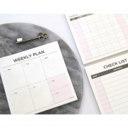 Everyday Smile Square Scheduler Notepad