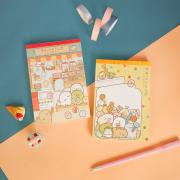 Sumikkogurashi Fancy Notepad A6