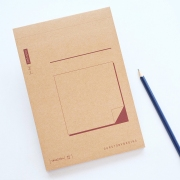Our Story Begins Notepad Medium