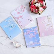 Dear Cherry Blossom Plain Notepad A6