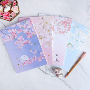 Dear Cherry Blossom Plain Notepad B5