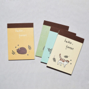 Hello Forest Mini Plain Notepad