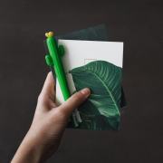Leaves of Grass Plain Notepad