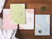 The Language of Sakura Plain Notepad