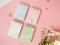 Cherry Blossom Rain Spiral Ruled Notepad A7