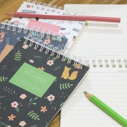 Midsummer Spiral Ruled Notepad