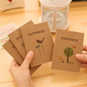 Happiness Plain Pocket Notes